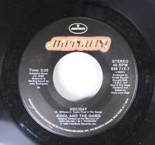Soul 45 Kool And The Gang - Holiday / Holiday (Jam Mix) On Mercury