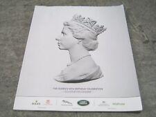Queen's 90th Birthday Celebration Souvenir Programme
