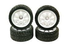 Absima 1:10 Buggy Onroad Reifen komplett 4 Stück mit Rowan 8 Loch Felge 2500015