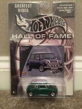 Hot Wheels Morris Mini Cooper Green Hall Of Fame Very Rare will combine P+P