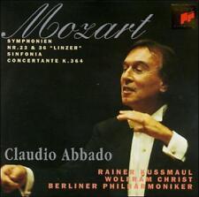 NEW - Mozart: Sinfonia Concertante by Claudio Abbado