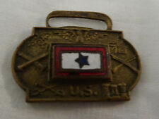 WWII US Army Son in Service Fob Signal Corps Engineer Medical Infantry Cavalry