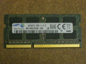 4 Go DDR3 12800 SoDIMM
