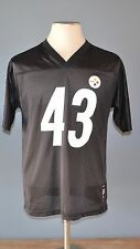Reebok Pittsburg Steelers # 43 TROY POLAMALU Jersey NFL Youth X-Large XL 18-20