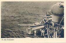 Nr.14165 Foto PK Deutsche Marine Soldaten An den Geschützen