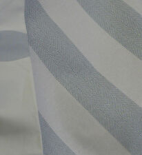 Modern Symbol & Coord Blue & Off White Stripe Fabric-3+YDS