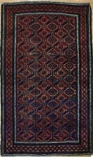 Beautiful Baluch - 1930s Antique Persian Rug - Tribal Balouch Carpet 2.9 x 4.7