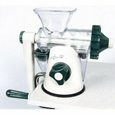 LIGHTLY USED ~ Green & White Healthy Juicer Manual Wheatgrass Juicer