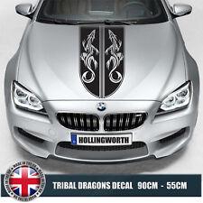 CAR BONNET HOOD RACING STRIPES  TRIBAL DRAGON Cars Stickers Graphics Decal