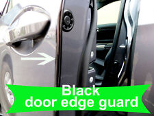 Fit 2005-2019 CHEVY BLACK Door Edge Protector Guard Moulding 4pcs
