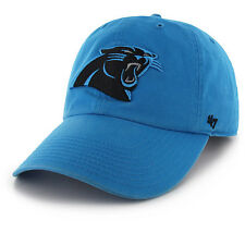 db5712a10 '47 BRAND Carolina Panthers Panther Blue Cleanup Adjustable Hat · '