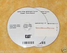 SEBP3930 New OEM Caterpillar 267B 277B 287B MTL Track Loader Parts Manual Book.