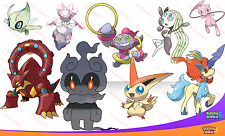 Perfect IV événement marshadow volcanion Hoopa MEW + plus! Pokemon Sun Moon Non Shiny