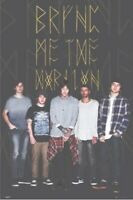 BRING ME THE HORIZON ~ BAND WITH LOGO ~ 24x36 Music Poster ~ New/Rolled!