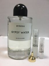 100%Authentic BYREDO Gypsy Water 2ml Eau De Cologne Sample in  Atomizer FREE P&P