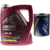 4L MANNOL Motoröl ENERGY FORMULA JP 5W-30 Motorspülung Motor Flush