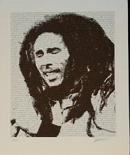 BOB MARLEY POSTER - FINE ART LIMITED EDITION SIGNED AND NUMBERED BY DESIGNER