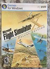 Microsoft Flight Simulator X: Deluxe Edition (PC, 2006) -