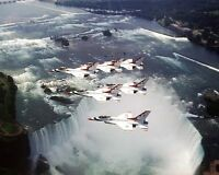 USAF THUNDERBIRDS NIAGARA FALLS 8x10 SILVER HALIDE PHOTO PRINT
