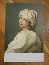Old Vintage Antique Postcard Roma Beatrice Cenci Guido Reni Rome Italy Stengel