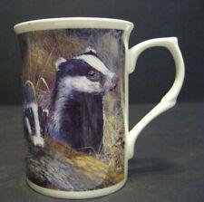 Wild Life Badger Fine Bone China Mug