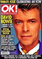 OK magazine #1016 January 26 2016 DAVID BOWIE TRIBUTE ISSUE NEW