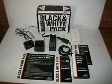 Telstra Black & White Pack Nec Sportz Vintage Retro Mobile Telephone Package