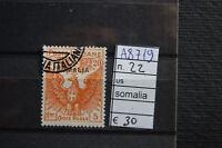 FRANCOBOLLI COLONIE SOMALIA USATI N. 22 (A8719)