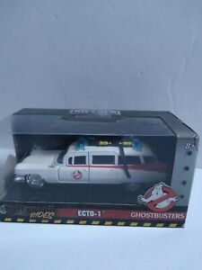 Jada Hollywood Rides Ghostbusters Ecto 1 1:32 Scale Die Cast BRAND NEW