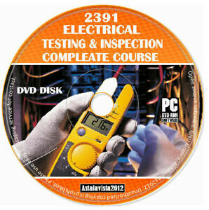 2391 Electrical Inspection And Study Course Teaching material Exam Questions DVD