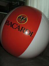 Großer Wasserball von BACARDI Inflatable Beach Ball 95cm Flach Neu