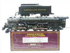 O Gauge MTH 20-3036-1 N&W Norfolk & Western 2-6-6-4 Class A Steam w/ Proto-Sound