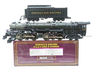 O Gauge MTH 20-3036-1 N&W Norfolk & Western 2-6-6-4 Class A Steam w/ Proto-Sound