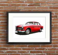VOLVO Amazon 122S Poster print format A1
