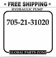 NEW HYDRAULIC PUMP for KOMATSU D31E-20 705-21-31020 7052131020 FREE SHIPPING!!!