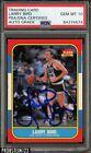 Larry Bird Signed 1986-87 Fleer Basketball #9 PSA/DNA 10 GEM MINT AUTO GRADE