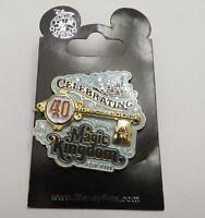 Disney Celebrating 40 Years of Magical Memories Magic Kingdom Cast Member Pin
