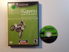 Nintendo Gamecube Jeremy McGrath Supercross World (box and game) FREE SHIPPING!!