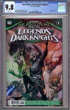 DARK NIGHTS DEATH METAL LEGENDS OF THE DARK KNIGHT 1 CGC 9.8 BOTH 1ST,2ND PRINT