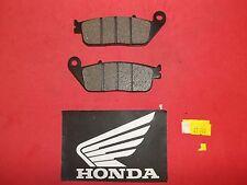 27-125 Honda Road Bike FRONT/ Brake Pads 13-14 CB 500F 10-15 VT 1100 196