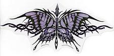 Large Purple Tribal Butterfly Sticker Car Decal Nene Thomas