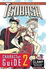 Tsubasa Character Guide 2 * Clamp Del Rey Manga pb Companion Guide 2009