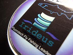 Irideus 4X Fluorotech tippet spool fly fishing line leader trout steelhead