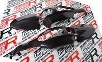 Ducati Hypermotard 796 1100 S/EVO/SP End Mirrors Turn Signal Covers Carbon Fiber