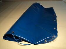 Flachplane für Pkw-Anhänger, blau, NEU, 208 x 114 x 8 cm, für Stema u. andere