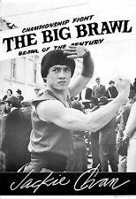 BIG BRAWL Movie Poster Jackie Chan Kung-Fu Bruce Lee