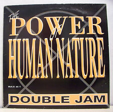 """MAXI 45T RPM DOUBLE JAM Disque 12"""" THE POWER OF HUMAN NATURE -TOUCH GOLD 8792291"""