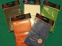 (500) ULTRA PRO CARD SLEEVES Deck Protectors COLORS MTG Magic Mix/Match Black