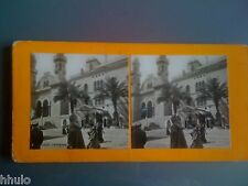 STC166 Algérie Alger Cathedrale stereoview photo STEREO ancien vintage