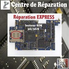 Réparation lecteur SIM carte IPHONE 3G 3GS micro soudure repair sim connector